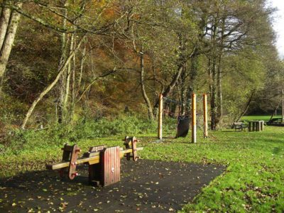 Chalford Park a short walk from the cottage