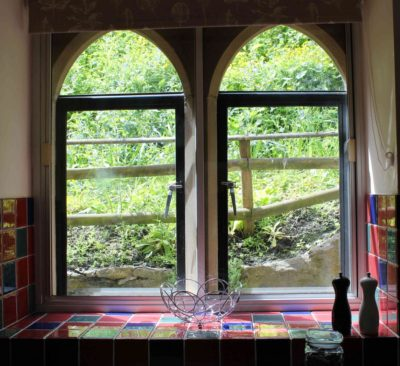 Character stone mullion windows with modern secondary glazing to keep you snug in winter
