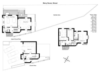 Floor Plan of Stony House