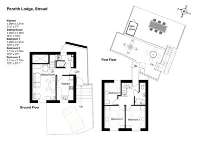 Floor Plan for Penrith Lodge
