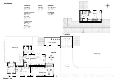 Floor Plan for The Retreat