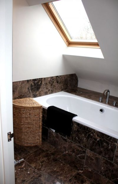 The Retreat - first floor ensuite to master bedroom with shower and bath (2)