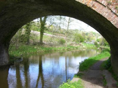 The local canals are undergoing restoration - interesting walks from just by the Cottage