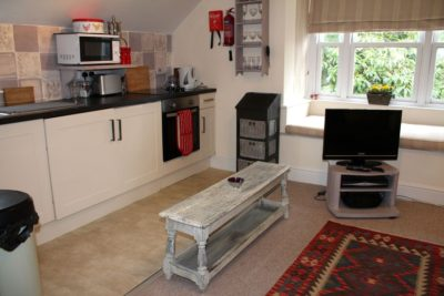 Walden Studio open plan living room with space to relax, cook & dine