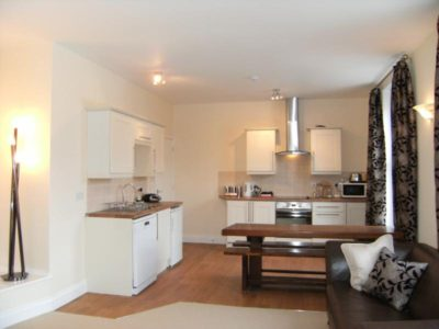 Bell House Apartment One fully equipped kitchen & dining for ten