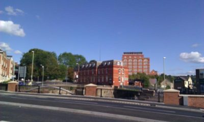 Bell House Apartments - View from Brewery Bridge over the Canal